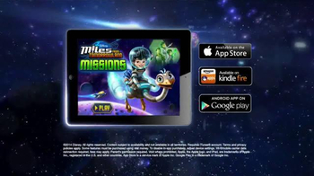 Miles From Tomorrowland: Missions App TV Spot - Thumbnail 8