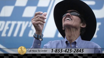 U.S. Money Reserve TV Spot, 'Gold American Eagle' Featuring Richard Petty - Thumbnail 5