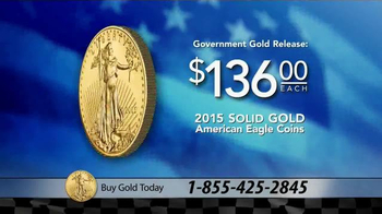 U.S. Money Reserve TV Spot, 'Gold American Eagle' Featuring Richard Petty - Thumbnail 6
