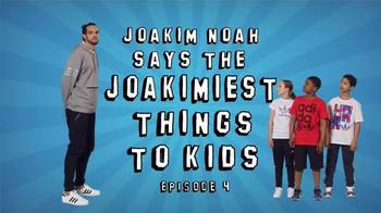 Joakim Noah Says the Joakimiest Things to Kids: Name thumbnail