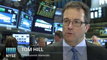 New York Stock Exchange TV Spot, 'Summit Materials' - Thumbnail 4