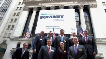 New York Stock Exchange TV Spot, 'Summit Materials' - Thumbnail 9