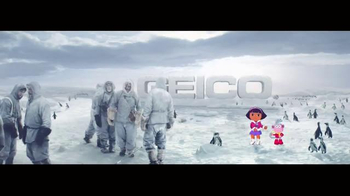 GEICO TV Spot, 'South Pole, Dora the Explorer: It's What You Do' - Thumbnail 9