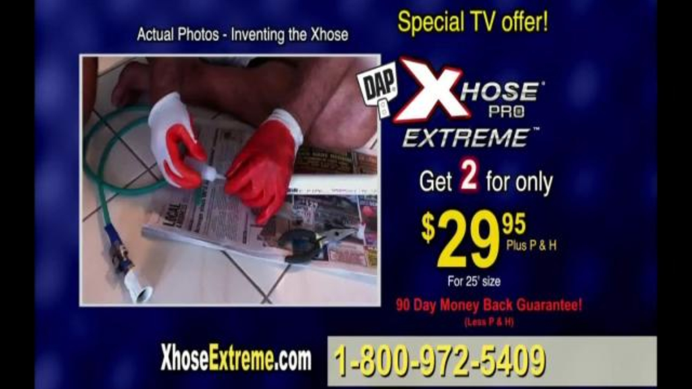 XHOSE Pro Extreme TV Commercial, 'Improved'