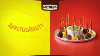Snyder's of Hanover TV Spot, 'Pretzelbilities' - Thumbnail 4