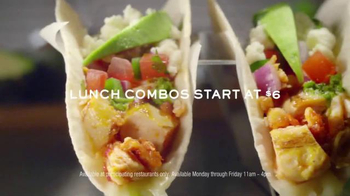 Chili's Lunch Combos TV Spot, 'Tap, Swipe and Go' Song by Terraplane Sun - 814 commercial airings
