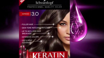 Schwarzkopf Keratin Color TV Spot, 'Stronger and Younger Look' - Thumbnail 1