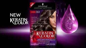 Schwarzkopf Keratin Color TV Spot, 'Stronger and Younger Look' - Thumbnail 2