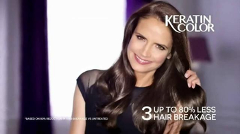 Schwarzkopf Keratin Color TV Spot, 'Stronger and Younger Look' - Thumbnail 4