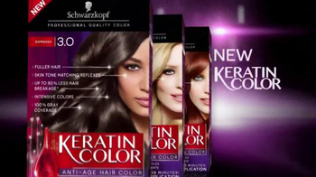 Schwarzkopf Keratin Color TV Spot, 'Stronger and Younger Look' - Thumbnail 6