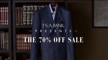 JoS. A. Bank The 70 Percent Off Sale TV Spot, 'Suits, Sport Coats'