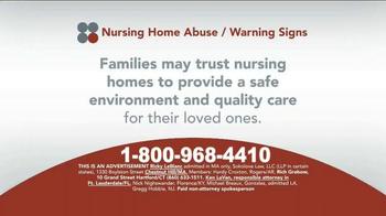 Sokolove Law TV Spot, 'Suspect Nursing Home Abuse' - Thumbnail 1