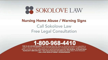 Sokolove Law TV Spot, 'Suspect Nursing Home Abuse' - Thumbnail 10