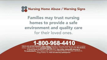 Sokolove Law TV Spot, 'Suspect Nursing Home Abuse' - Thumbnail 2