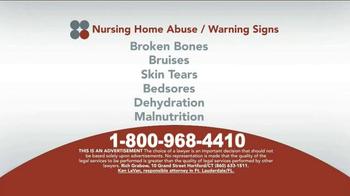 Sokolove Law TV Spot, 'Suspect Nursing Home Abuse' - Thumbnail 5