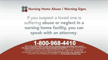 Sokolove Law TV Spot, 'Suspect Nursing Home Abuse' - Thumbnail 7