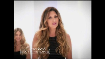 Secret Extensions TV Spot, 'Thick Natural Look' Featuring Daisy Fuentes - Thumbnail 3