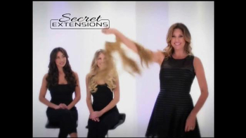 Secret Extensions TV Spot, 'Thick Natural Look' Featuring Daisy Fuentes - Thumbnail 5