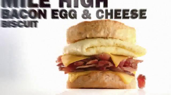 Carl's Jr Mile High Bacon Egg & Cheese Biscuit TV Spot, 'Made From Scratch' - Thumbnail 8