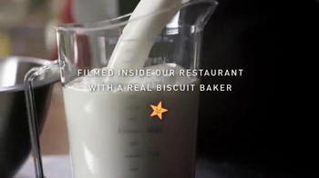 Carl's Jr Mile High Bacon Egg & Cheese Biscuit TV Spot, 'Made From Scratch' - Thumbnail 1