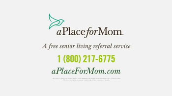 A Place For Mom TV Spot, 'Parents Living on Their Own' - Thumbnail 9
