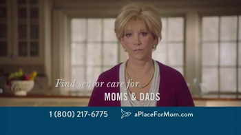 A Place For Mom TV Spot, 'Parents Living on Their Own' - Thumbnail 3