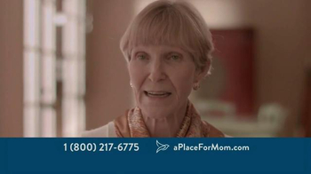 A Place For Mom TV Spot, 'Parents Living on Their Own' - Thumbnail 4