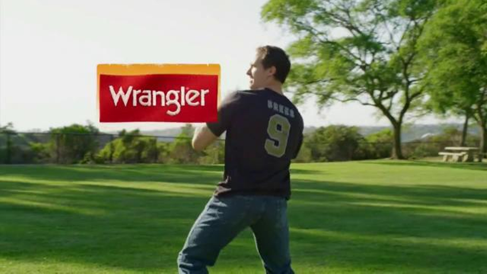 Wrangler Advanced Comfort Jeans TV Commercial, 'Work Out' Featuring Drew Brees