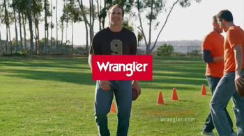 Wrangler Advanced Comfort Jeans TV Spot, 'Work Out' Featuring Drew Brees - Thumbnail 10