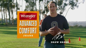 Wrangler Advanced Comfort Jeans TV Spot, 'Work Out' Featuring Drew Brees - Thumbnail 2
