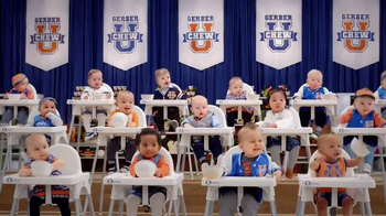 Gerber Lil' Bits TV Spot, 'Chew University'