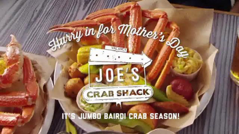 Joe's Crab Shack Mother's Day TV Spot, 'It's Jumbo Bairdi Crab Season' - Thumbnail 3