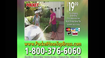 Pocket Hose Top Brass TV Spot, 'Pick a Pocket Hose' Featuring Richard Karn - Thumbnail 9