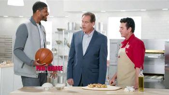 Papa John's Garlic Knots TV Spot, 'Garlic Nantz' Ft. Jim Nantz, Paul George
