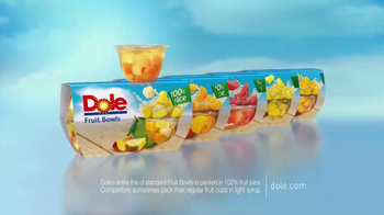 Dole Fruit Bowls TV Spot, 'Drain It or Drink It' - Thumbnail 8