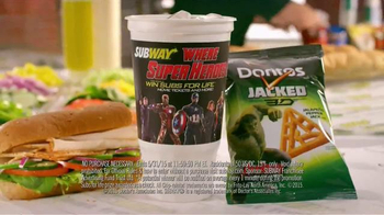 Subway TV Spot, 'Marvel's Avengers: Age of Ultron Sweepstakes' - Thumbnail 2