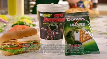 Subway TV Spot, 'Marvel's Avengers: Age of Ultron Sweepstakes' - Thumbnail 5