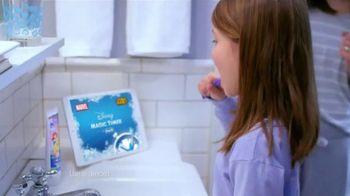 Oral-B Disney Magic Timer Toothbrush TV Spot, 'Enjoy Brushing'