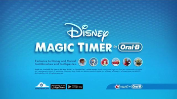 Oral-B Disney Magic Timer Toothbrush TV Spot, 'Enjoy Brushing' - Thumbnail 9