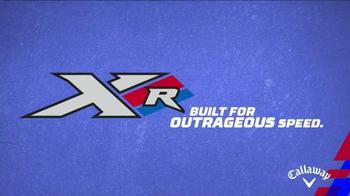 Callaway Xr TV Spot, 'Outrageous Speed' Featuring Pat Perez - Thumbnail 4