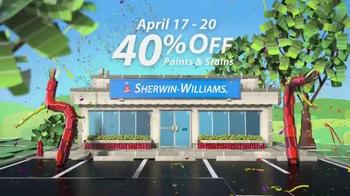 Sherwin-Williams Four-Day Super Sale TV Spot, 'April' - Thumbnail 5