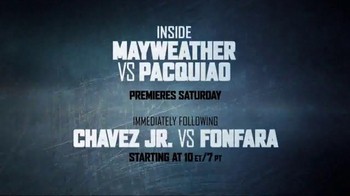 Showtime TV Spot, 'Inside Mayweather vs. Pacquiao'