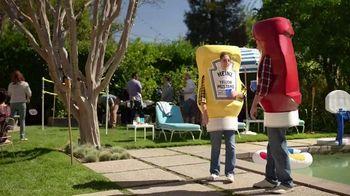 Heinz Yellow Mustard TV Spot, 'Ketchup's Got a New Mustard: Backyard BBQ' - Thumbnail 1