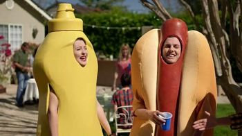Heinz Yellow Mustard TV Spot, 'Ketchup's Got a New Mustard: Backyard BBQ' - 7795 commercial airings