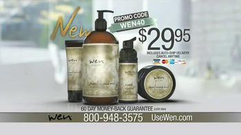 Wen Hair Care By Chaz Dean TV Spot, 'It Actually Works' Feat. Angie Harmon - Thumbnail 8