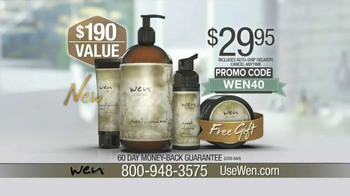 Wen Hair Care By Chaz Dean TV Spot, 'It Actually Works' Feat. Angie Harmon - Thumbnail 4