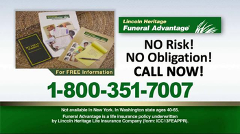 Lincoln Heritage Funeral Advantage TV Spot, 'Help Protect Your Family' - Thumbnail 7
