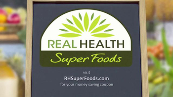 Real Health Superfoods SuperGreens TV Spot, 'Drink Your Veggies' - Thumbnail 1