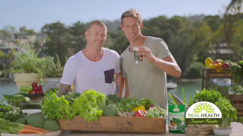 Real Health Superfoods SuperGreens TV Spot, 'Drink Your Veggies' - Thumbnail 3
