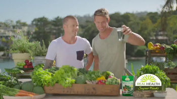 Real Health Superfoods SuperGreens TV Spot, 'Drink Your Veggies' - Thumbnail 8